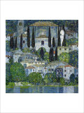 Church in Cassone Giclée par Gustav Klimt