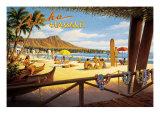 Aloha Hawaï Giclée par Kerne Erickson