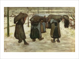 Women Carrying Sacks of Coal