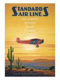 Compagnies aériennes- El Paso, Texas Giclée par Kerne Erickson