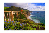 View Of The BIXby Creek Bridge  Big Sur  Ca
