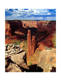 Spider Rock  Canyon De Chelly Arizona