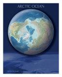 Arctic Ocean View Of Earth