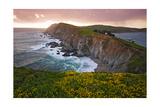 Sunset Chimney Rock  Point Reyes Seashore Ca