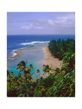 View Of Kee-E Beach  Kauai  Hawaii