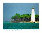 Cape St George Lighthouse  Little St George Island  Florida