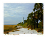 St Marks Lighthouse  St Marks  Florida