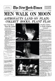 New York Times  July 21  1969: Men Walk on Moon