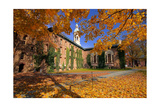 Nassau Hall At Fall  Princeton University