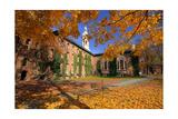 Nassau Hall At Fall  Princeton University