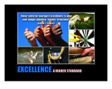 Inspirational-Motivational: Excellence Collage