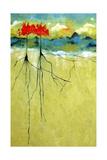 Deep Roots Reproduction d'art par Ruth Palmer
