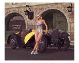 1932 Sport Roadster Pose