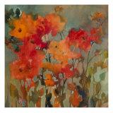 Orange Flower Giclée par Michelle Abrams