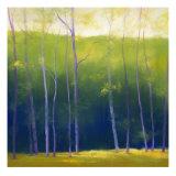Summer Leaves Giclée par Teri Jonas