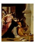 Saint Thomas Aquinas Comforted by Angels