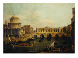 Reconstruction of Castel Sant'Angelo and the Bridge
