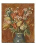 Bouquet de tulipes Giclée par Pierre-Auguste Renoir