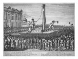 The Execution of Louis XVI  January 21 1793