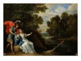 Reconciliation of Rinaldo and Armida