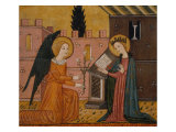 Annunciation  from Bellver De Cerdanya  14th Century