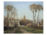 Entering the Voisins Village  1872