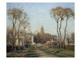Entering the Voisins Village  1872