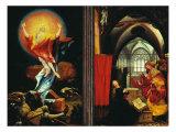 Isenheim Altar  Resurrection and Annunciation
