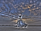Seven Exposure HDR Image of a Stationary Kiowa OH-58D Helicopter