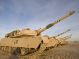 M1 Abrams Tanks at Camp Warhorse