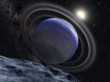 Extrasolar Planet Orbiting Star HR 8799