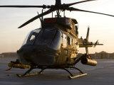 OH-58D Kiowa During Sunset
