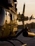 OH-58D Kiowa During Sunset