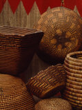 Northwest Native American Tribe Baskets  Collected by Edward Curtis  Seattle  Washington