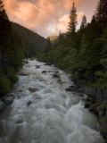 Late Afternoon on the Middle Fork of the Stanislaus River