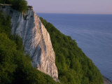 Koenigstuhl Cliff Facing the Sea on Ruegen Island