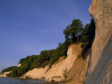 Clay Cliffs on the Shore of Ruegen Island