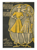 Weldon's Ladies Journal  Magazine Cover  UK  1940