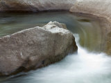 Water Flowing in the South Fork Kings River  Kings Canyon National Park  California
