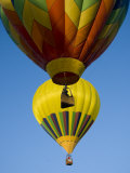 Hot Air Balloons in a Hot Air Balloon Festival  Albuquerque  New Mexico  USA