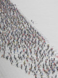 Cross Country Ski Marathon  St Moritz  Switzerland