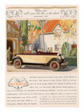 Marmon  Magazine Advertisement  USA  1927