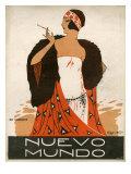 Nuevo Mundo  Magazine Cover  Spain  1923