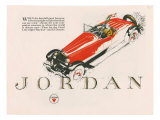 Jordan  Magazine Advertisement  USA  1925