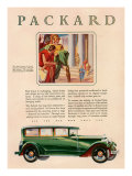 Packard  Magazine Advertisement  USA  1929