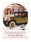 Buick  Magazine Advertisement  USA  1925