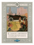 Chevrolet  Magazine Advertisement  USA  1920