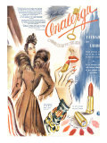 Lipstick  Magazine Advertisement  France  1930