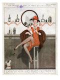 La Vie Parisienne  Magazine Plate  France  1920