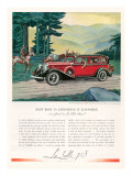 Cadillac La Salle  Magazine Advertisement  USA  1933